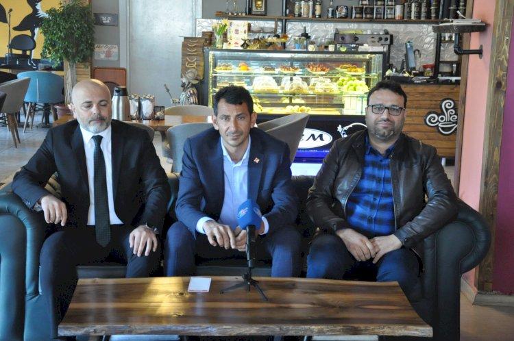 CHP Nizip İlçe Başkan Adayı Mehmet Alagöz Basınla Buluştu