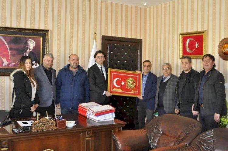 Gazetecilerden Başsavcı Azgıt'a Ziyaret