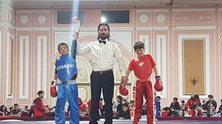Nizip'in Wushu sanda taolu başarısı