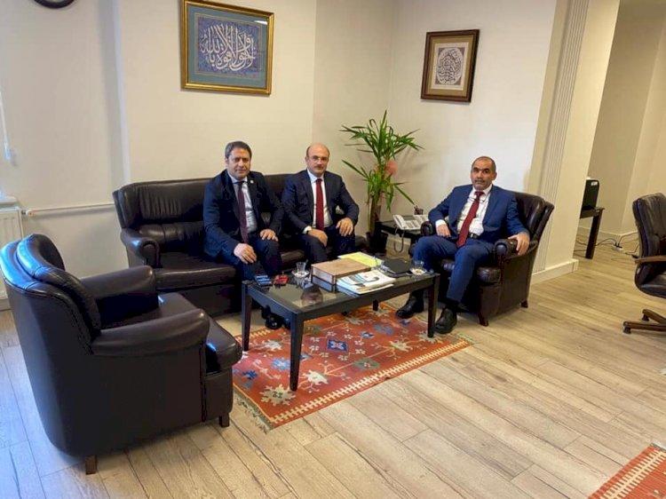 Belediye Başkanı Sarı Ankara'da