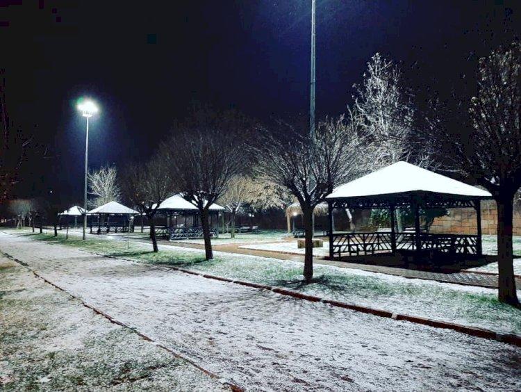 Beklenen Kar Yağdı