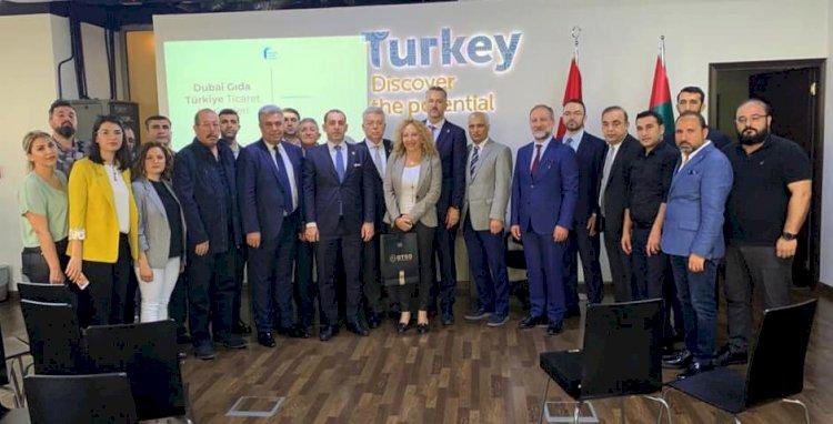 Gaziantep ve Nizip'li Firmalardan Dubai'ye Çıkarma