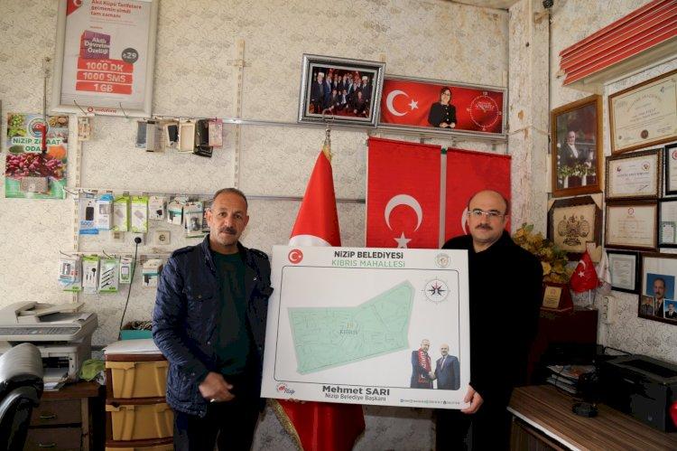 Belediye Başkanı Sarı, Kıbrıs Mahallesini ziyaret etti