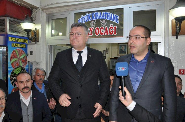 MHP Gaziantep teşkilatından Nizip Teşkilatına ziyaret