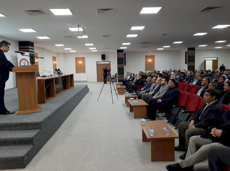 Nizip'te Corono Virüsü bilgilendirme Toplantısı