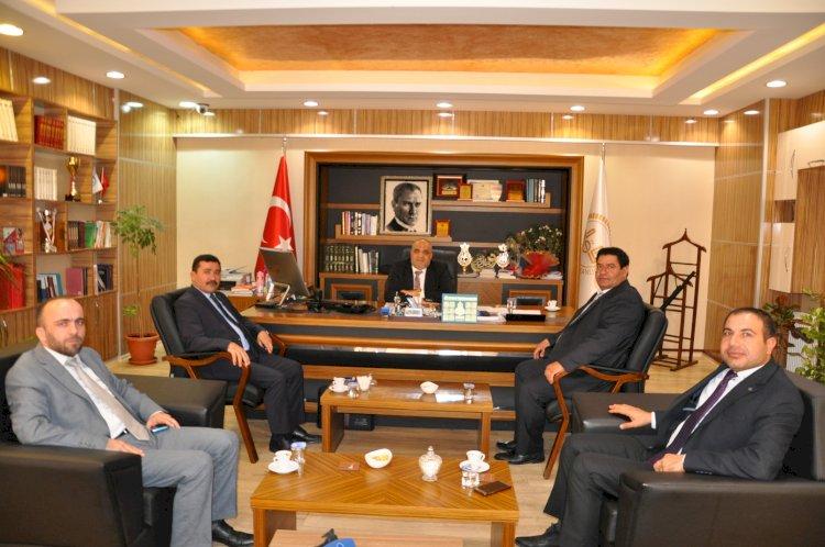 Genel Başkan Ak'dan Müftü Çiftçi'ye Ziyaret