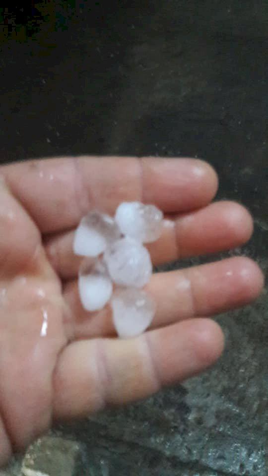 Nizip'te şiddetli yağış