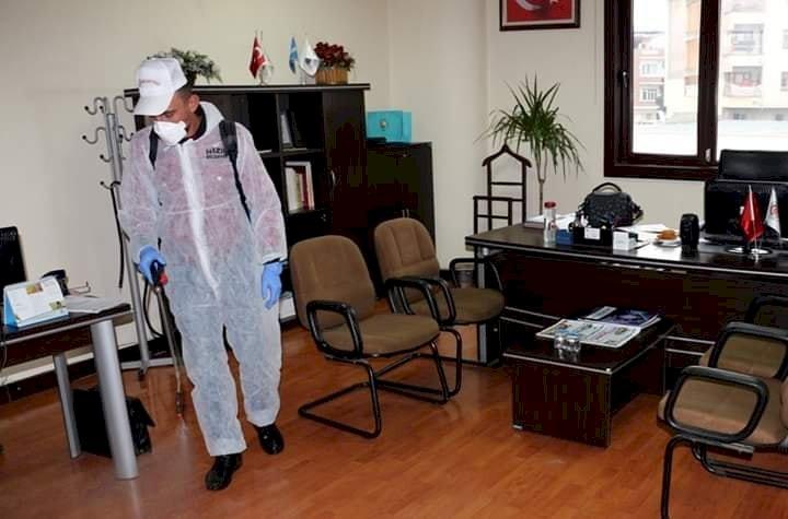 Nizip Ticaret Odası'nda Koronavirüs Önlemi