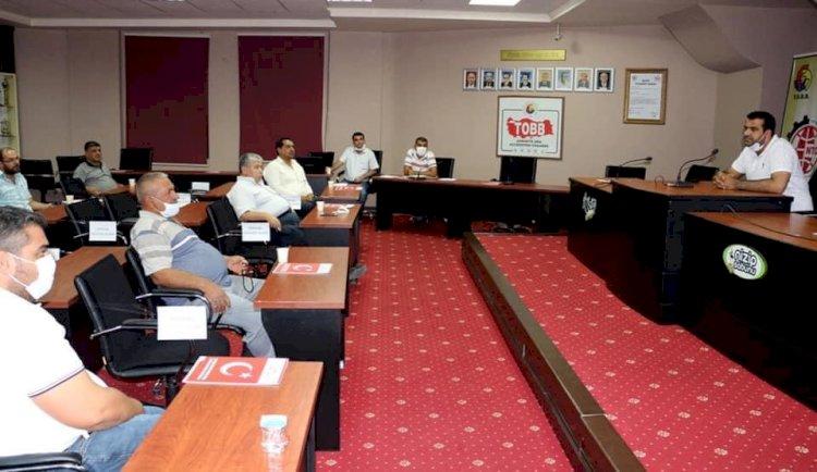 Antep Fıstığı Sektörü Nizip Ticaret Odası'nda Toplandı