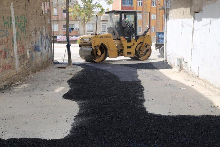 Bakım onarım ve asfalt çalışmaları devam ediyor
