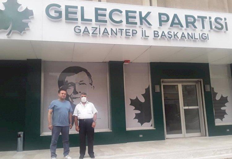 Gelecek Partisi İlçe Başkanlığı'na Danaoğlu atandı