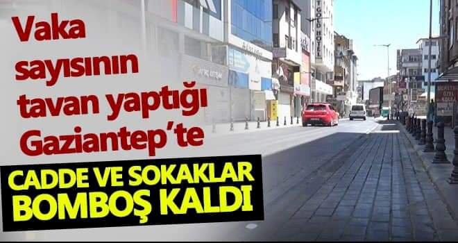 Gaziantep Kurban Bayramı'nın ilk günü sessizliğe büründü