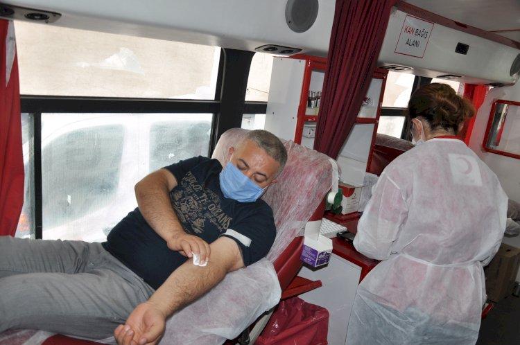 Nizip'te kan bağışı kampanyası