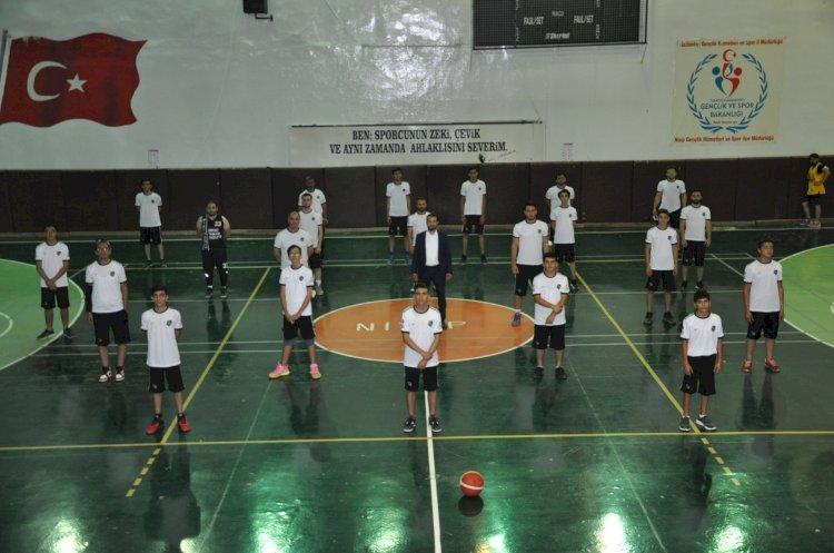 Nizip Gücü Basketbol Takımı ilk antrenmanı yaptı