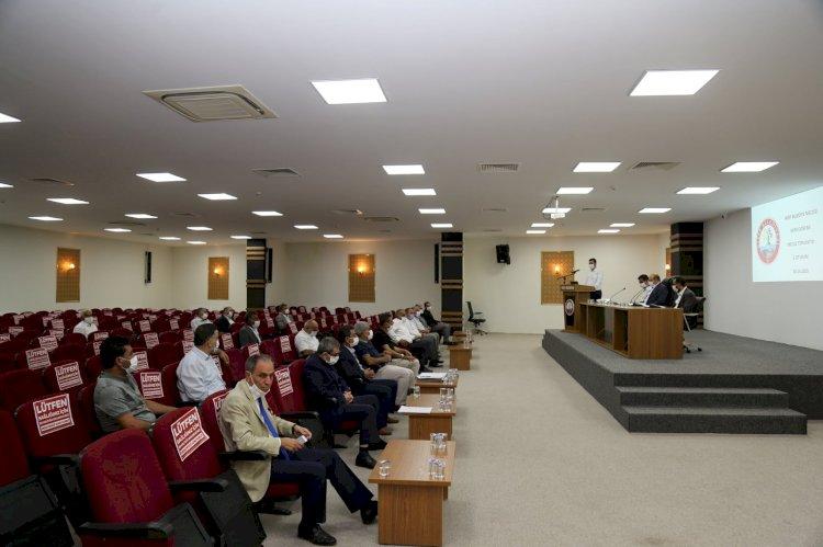 Belediye Meclisi Ekim ayı 2'inci oturumu gerçekleşti