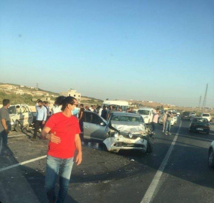Nizip Yolunda kaza: 9 yaralı