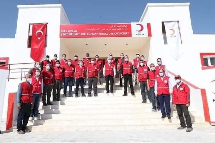 Türk Kızılayı Genel Başkanı Kınık Nizip'te