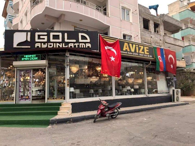 Nizip'li esnaflardan Azerbaycan'a destek