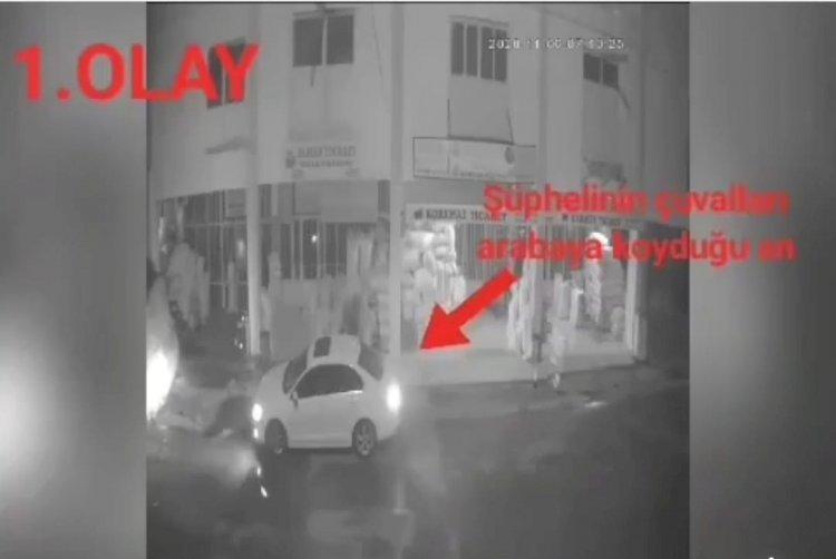Nizip'te hırsızlık 2 kişi tutuklandı