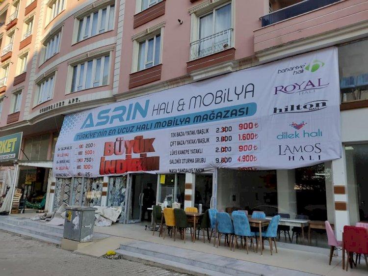 Asrın Halı Mobilya Mağazası Nizip'te açıldı