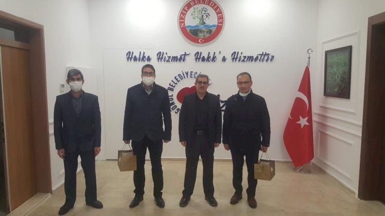 Çölyak Dernek Başkanı'ndan Nizip Belediyesi'ne teşekkür ziyareti