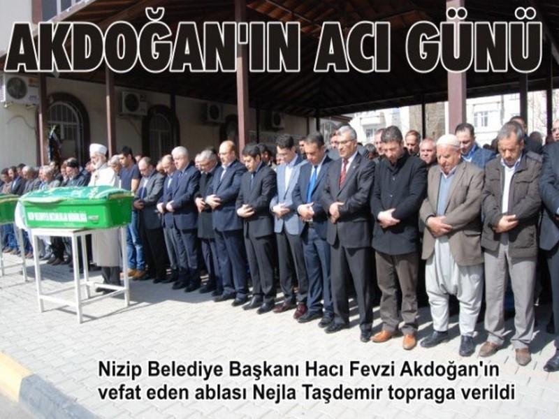 Belediye Başkanı Akdoğanın acı günü
