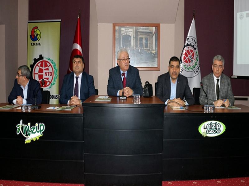 NTO da Nizip Organize Sanayi Bölgesi Kura Çekimi Yapıldı