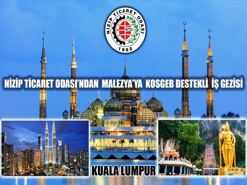 Nizip Ticaret Odasından Malezyaya İş Gezisi