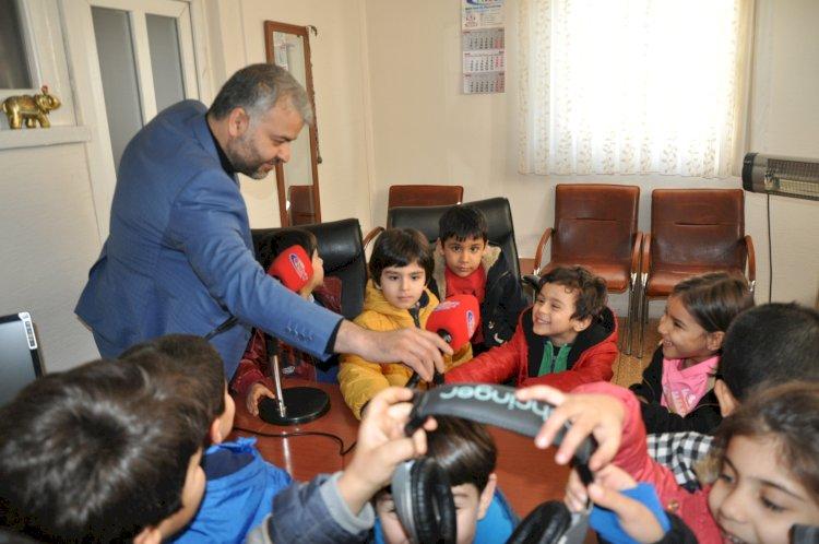 4-6 Yaş Kur'an kursu Öğrencileri NRT'yi ziyaret etti