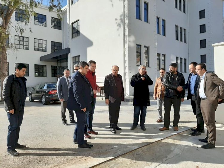 Protokol Nizip'te incelemede bulundu