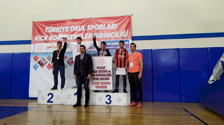 Nizip'in Kick Boks Başarısı