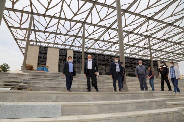 Şahin ve Sarı Kültür Merkezi'ni inceledi