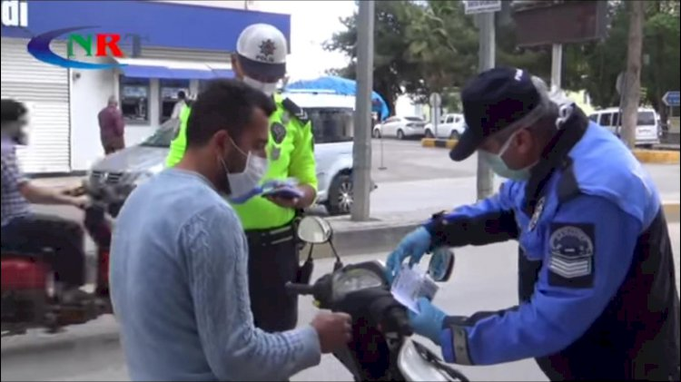 NİZİP'TE POLİSTEN MOTOSİKLET KULLANICILARINA UYARI