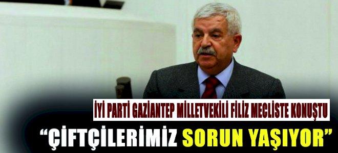 İYİ Parti Gaziantep Millet Vekili Filiz Mecliste Konuştu
