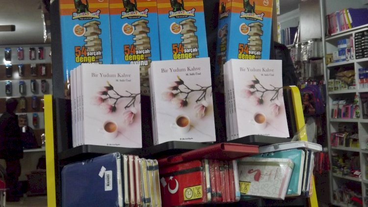 BİR YUDUM KAHVE KİTABI NİZİP'TE OKURLARIYLA BULUŞMAYA BAŞLADI