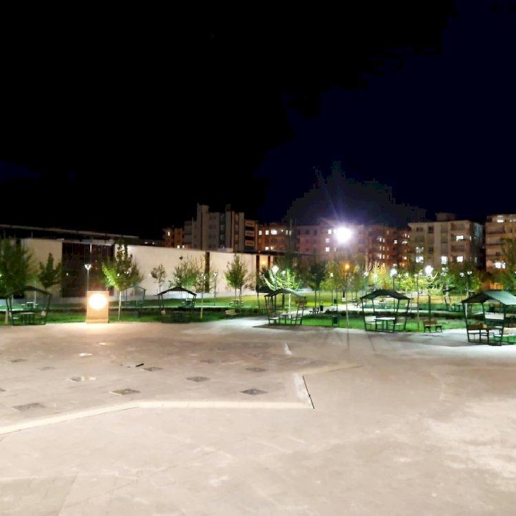 Nizip'te Millet Bahçesinde kısıtlama sessizliği