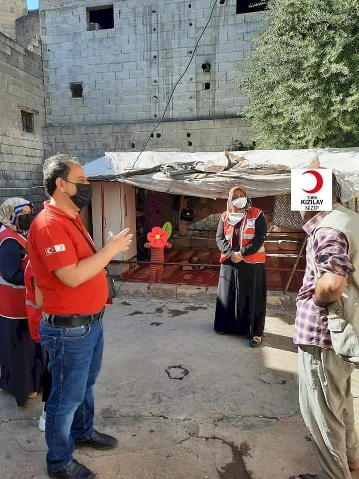 Nizip Kızılay Ramazan yardımlarını aralıksız sürdürüyor