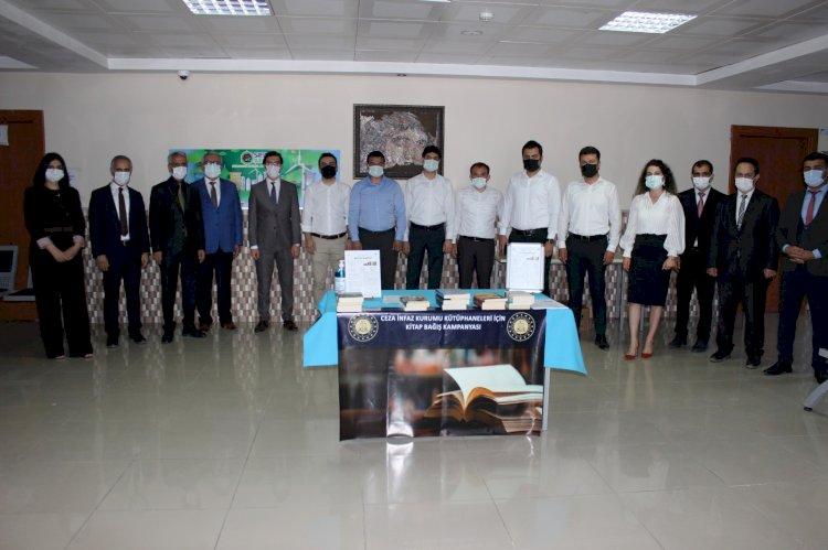 Hükümlü ve tutuklular için kitap bağışı kampanyası başlatıldı