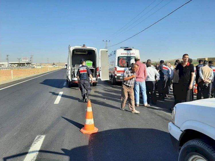 Nizip ilçesinde yolcu minibüsünün çarptığı yaşlı adam hayatını kaybetti