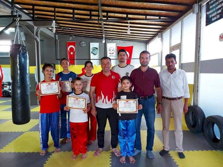 Nizip Gücü Spor Kulübü Şampiyonlara Teşekkür Belgesi