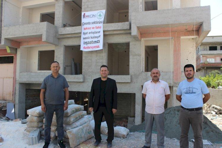 Müteahhitlerden boykot kararı: İnşaatlar 24 Eylül'e kadar durduruldu