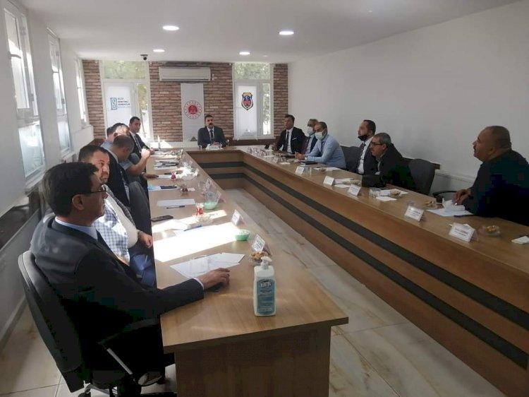 Nizip Cumhuriyet Başsavcılığı Koruma Kurulu Toplantısı Yapıldı