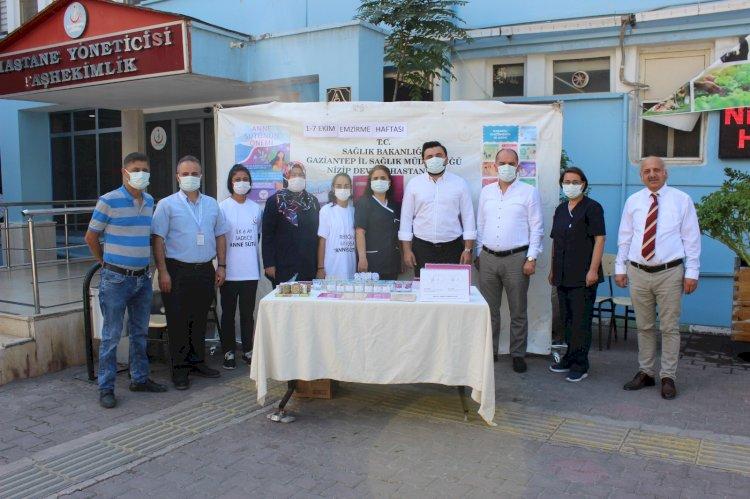 Nizip Devlet hastanesinde 'emzirme haftası' etkinliği