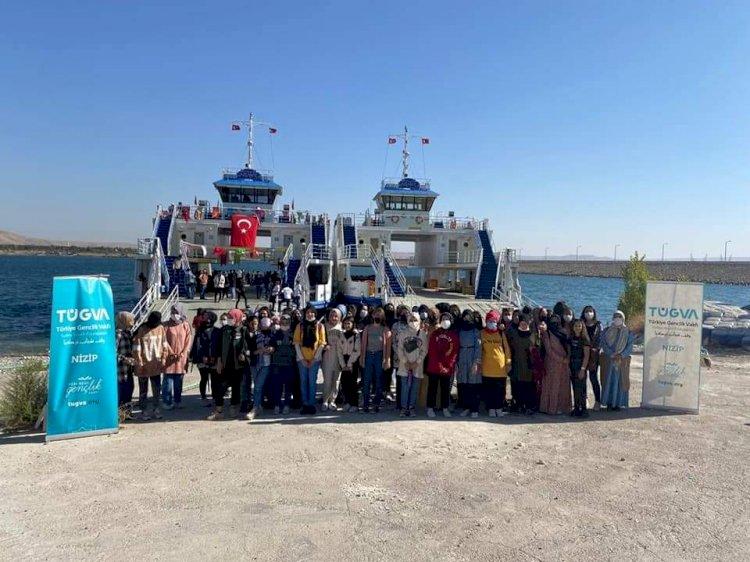 Tügva üyelerinin Rumkale Halfeti Gezisi