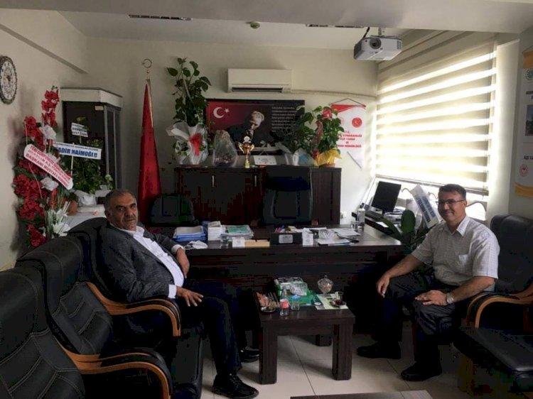 Ziraat Odası Başkanı Durmaz'dan Hayırlı Olsun Ziyareti