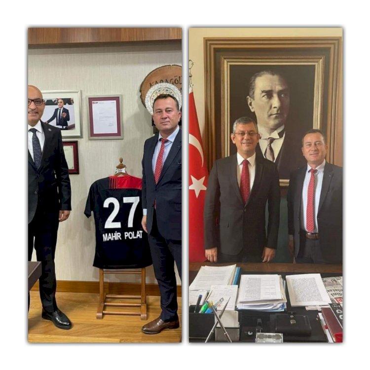 Karkamış Belediye Başkanı Doğan, Ankara'da