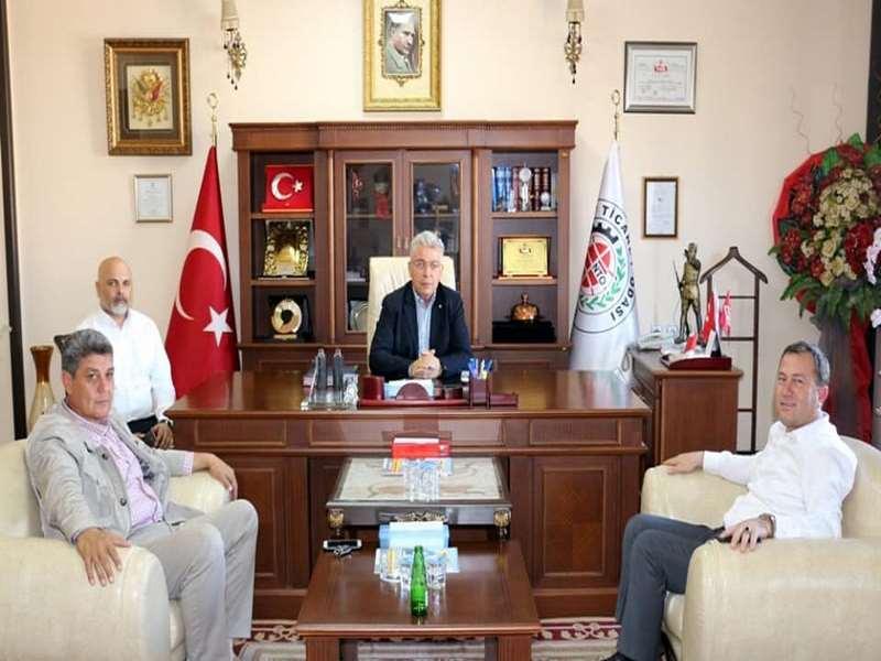 Karkamış Belediye Başkanı Ali Doğan dan NTO ya Ziyaret